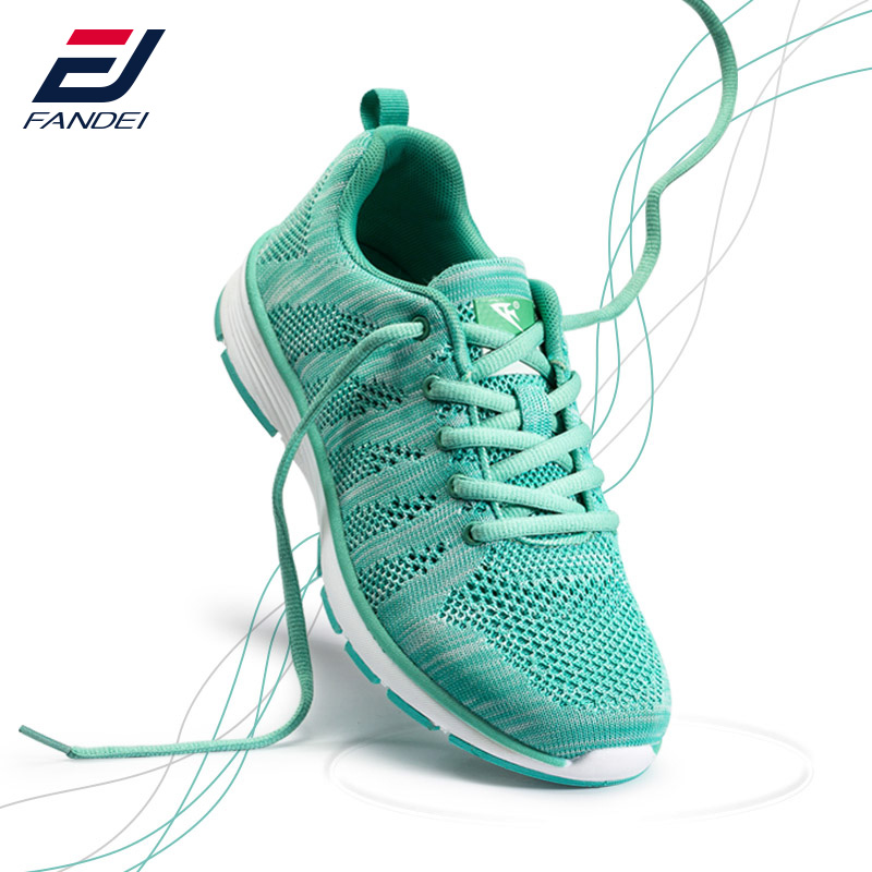 FANDEI Women Running Shoes Sneakers Breathable Mesh Soft Light Weight Sneaker Woman Sport Shoes For Female Walking Jogging Shoes