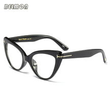 Cat Eye Eyeglasses Spectacle Frame Women Computer Prescription Optical For Female Vintage Eyewear Clear Lens Glasses Frame RS516