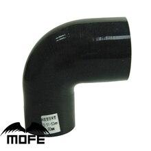 """MOFE Черный 51 мм до 57 мм/60 мм/63 мм/70 мм/76 мм силиконовый 90 градусов колено уменьшить шланг/"""" дюймов до 2,24"""" дюймов/2,3"""" /2,76""""/ """" дюймовый шланг"""