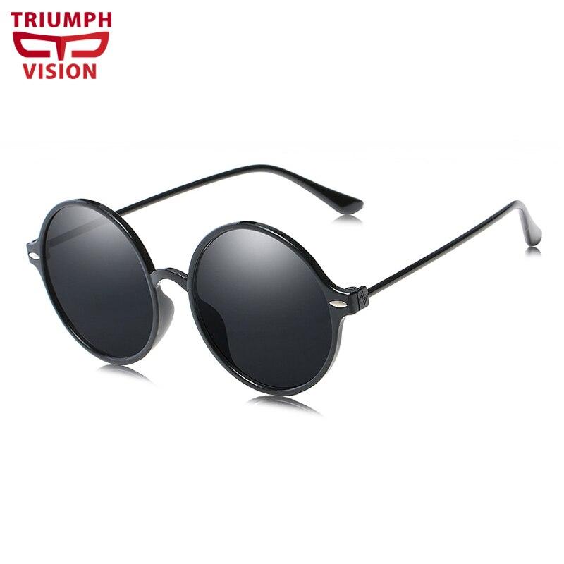97bc1bd2b99b0 TRIUMPH VISÃO Retro Rodada Óculos de Sol para as mulheres Estilo Moda Vintage  Marca Design Óculos