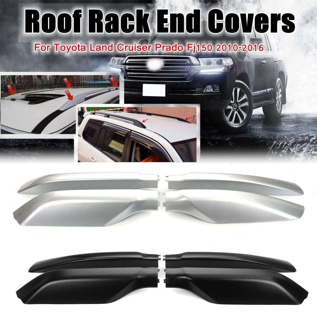 For Toyota Land Cruiser Prado FJ120 03-09 Roof Rack Rail End Cover Shell POWER