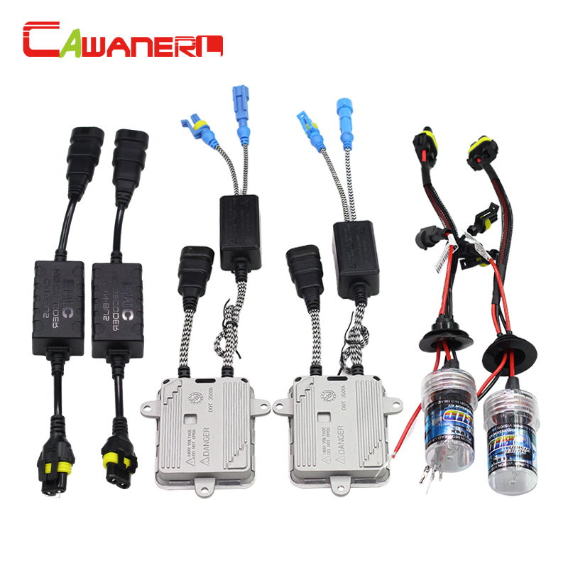 Cawanerl H3 55W HID Xenon Kit 3000K 4300K 6000K 8000K 10000K 12000K Bulb AC Ballast Decoder Anti Flicker Car Headlight Fog Light