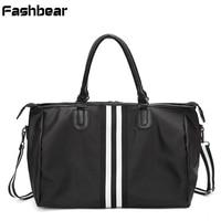 Large Capacity Women Travel Bag Hand Luggage Weekend Shoulder Duffle Bag Waterproof Big Carry On Luggage