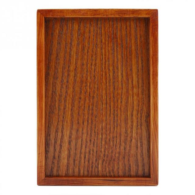 Wooden Tea Tray Serving Table Plate