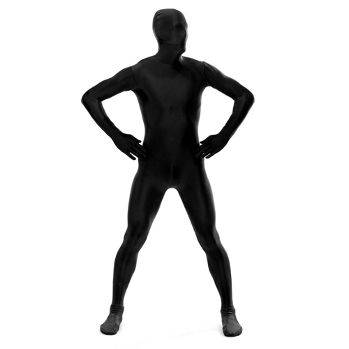 Black Color Lycra Spandex Fullbody Zentai Suit Cosplay Costume Freeshipping Zentai Catsuit