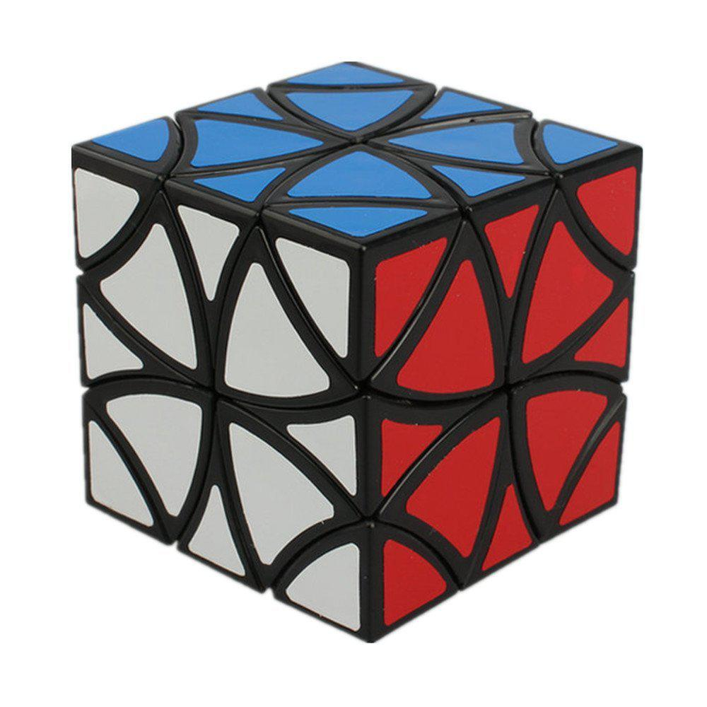 Flower Cube - Curvy Copter Cube - Magic Cube - Twisty Puzzle - Type Cubikon Lucky Lion Magic Cube Educational Toys