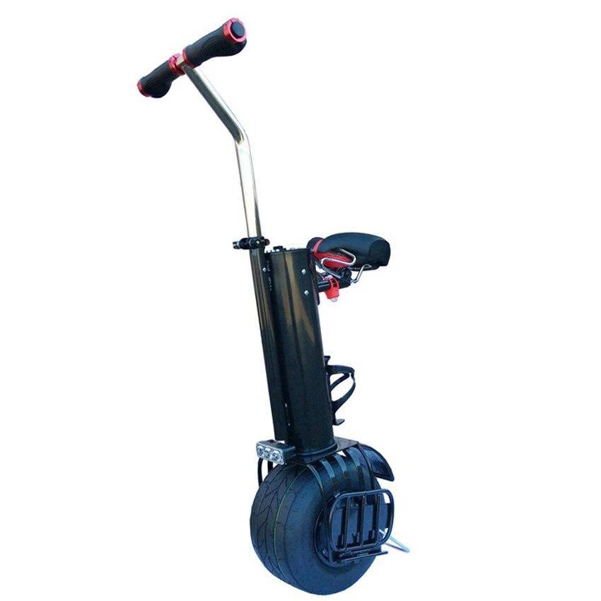 Una rueda auto equilibrio monociclo unicicle scooter con asiento de 10 pulgadas hoverboard - 5
