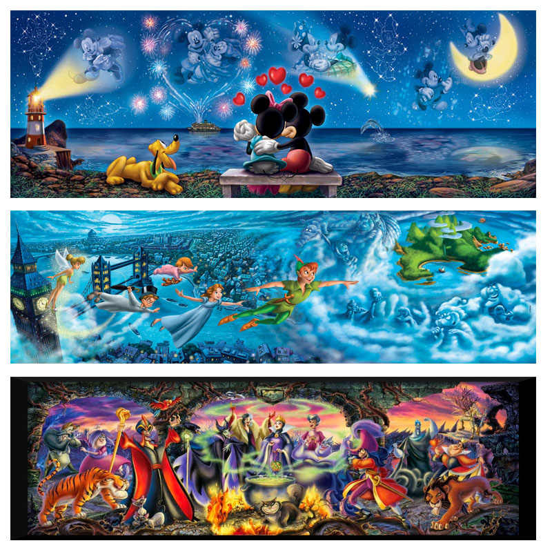 Diy 5d Diamond painting cross stitch square diamond embroidery Disney Mickey mouse handwork picture rhinestone mosaic Home Decor