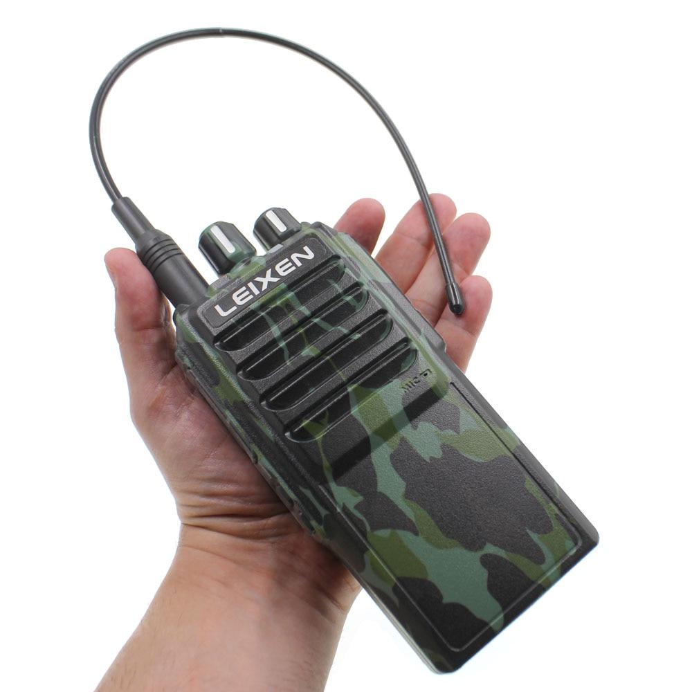 25W LEIXEN NOTE UHF 400 480MHz FM Ham Two Way RadioWalkie Talkie Black Transeiver Interphone Camo