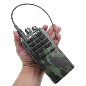 Image 2 - LEIXEN 참고 UHF 400 480MHz 20W FM 햄 양방향 라디오 워키 토키 Transeiver Interphone Camo