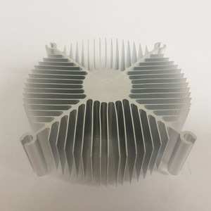 Image 3 - Factory direct sales 95*95*35mm CPU round cooler   Computer chip cooler