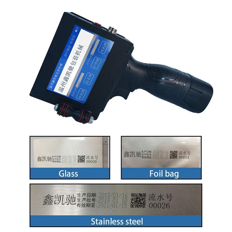 Portable Tissue Paper Handheld Inkjet Printer Handheld Inkjet Printer Small Smart Cartridge Encoder Handheld Printer