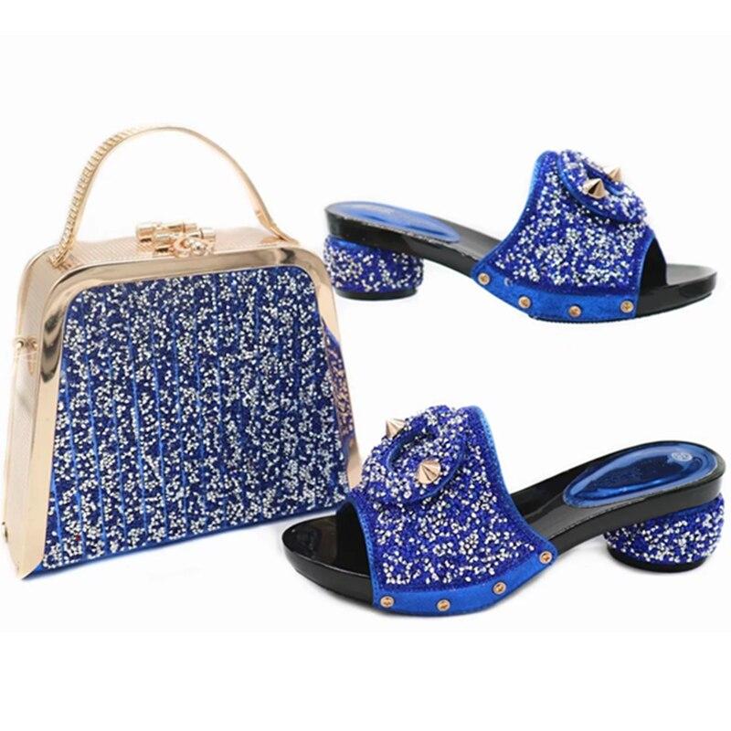 blue Purple Femmes Vert or Assorties Et Avec vert Correspondre Chaussures Sacs Dans À Italien rouge Pour Africain Ensemble Sac ww6qBT