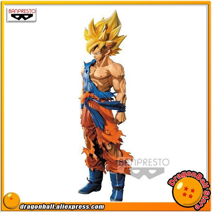 """""""Dragon Ball Z"""" Original Banpresto Super Master Stars ชิ้น SMSP Collection Figure   SUPER SAIYAN SON GOKU มังงะขนาด ver.-ใน ฟิกเกอร์แอคชันและของเล่น จาก ของเล่นและงานอดิเรก บน   1"""