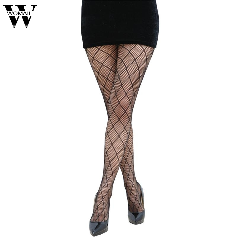 Buy Hollow Sexy Pantyhose Female Mesh Black Women Tights Slim Fishnet Club Party Hosiery Amazing