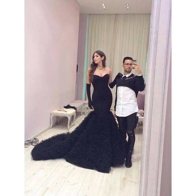 Vintage black sweetheart Wedding Dresses mermaid gowns sleeveless ...