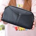Brand New 2017 Fashion Casual Simple Clutch Bag Zipper Phone Pocket Large Capacity Small Women Bag Wallet Purse Bolsa Female