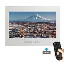 Free Shipping New Design 18.5 inch WiFi HDMI HD Smart Waterproof Android Mirror TV