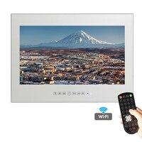 Nuevo Diseño Del Envío Libre 18.5 pulgadas WiFi HDMI HD A Prueba de Agua Inteligente Android TV Espejo