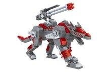 Ausini building block set compatible with lego Mech robot series 183 3D Construction Brick Educational Hobbies Toys for Kids