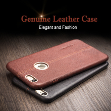 QIALINO Case for iphone 6 & 6s fashion genuine leather phone case for iphone 6s plus luxury calf skin for 4.7/ 5.5 inch cover