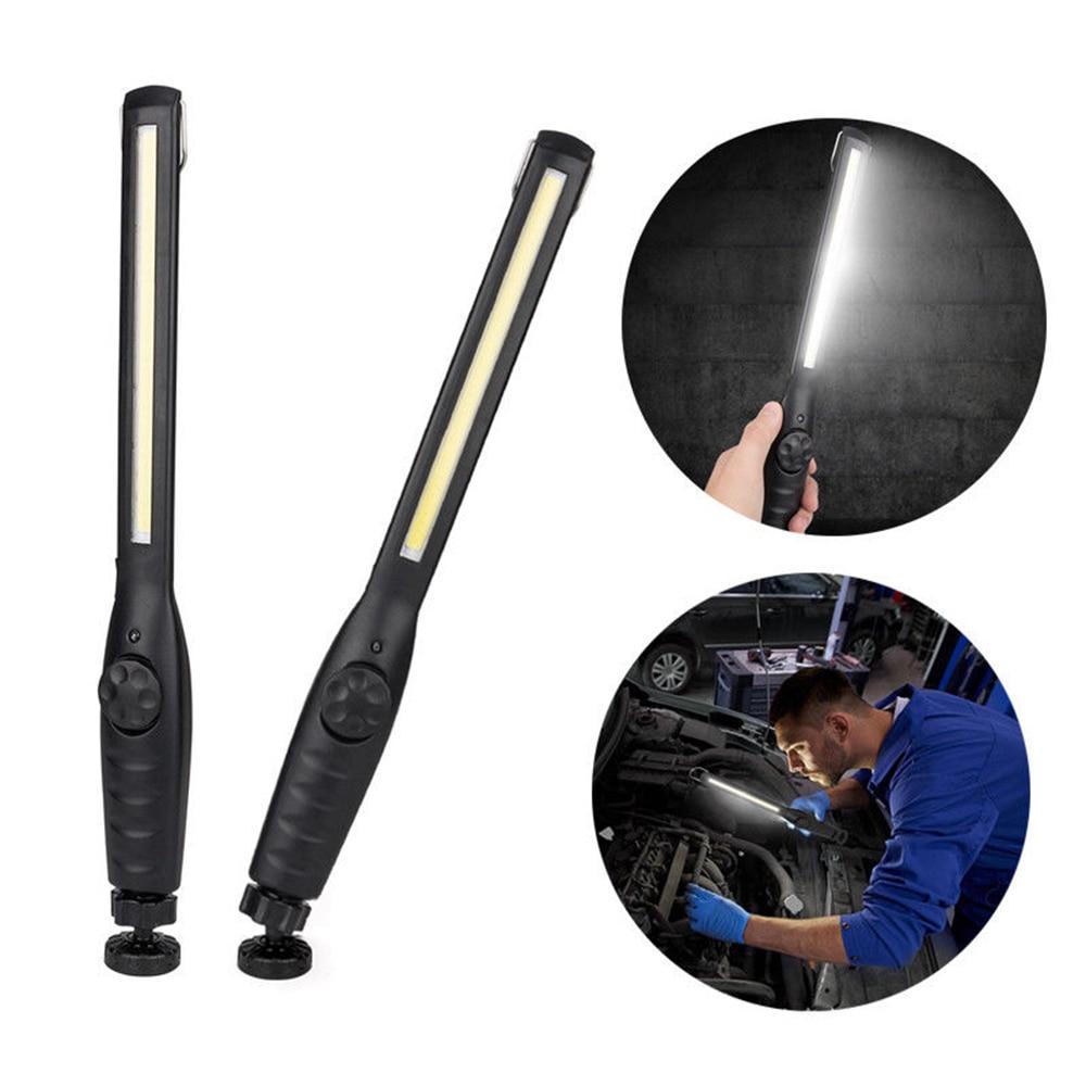 Slim Light Work 1200LM Rechargeable COB LED Aimant Pivotant Noir Tactique Militaire De Réparation De Voiture Étanche Mécanicien Escalade outil