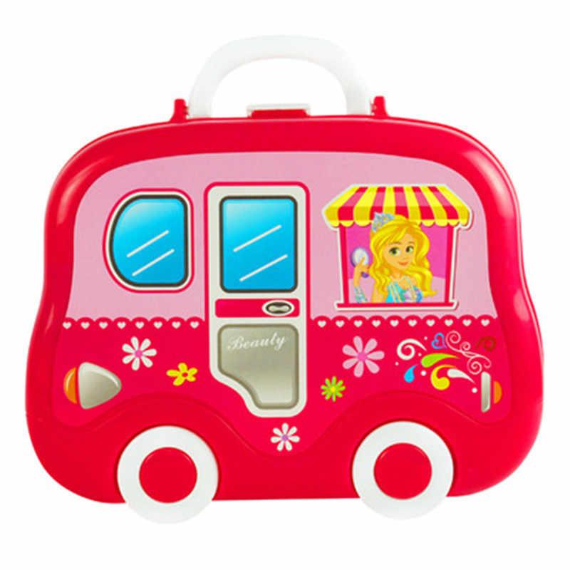 Детский набор косметики, ролевые игры, набор для макияжа, для детей, для девочек, дошкольницы, модные игрушки, игра, косметика, инструмент, подарок на день рождения