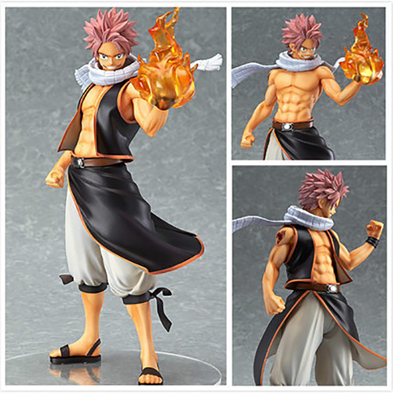 FAIRY TAIL Action Figures,20CM PVC Figure Collectible Toys , Action Figures Statue, Anime Figure Figurines Kids Toys anime cartoon fairy tail gray fullbuster figurines pvc action figures toy model 25cm