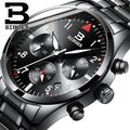 Relogio masculino 2017 binger mens relógios top marca de luxo relógios de quartzo de alta qualidade relógio masculino homens relógio de pulso cronógrafo