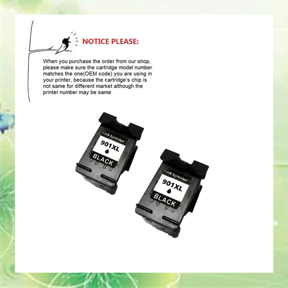 2 stücke CC654AN für HP901 901XL für HP Officejet 4500/4500-G510/J4525/J4540/J4550/J4580/J4585/J4640/J4660/J4680/J4680c