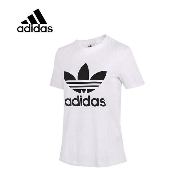 f52a35d694f Original New Arrival Official Adidas Women's T-shirts Short Sleeve Leisure  Sportswear Breathable Quick Dry Shirt CV9889/CV9888
