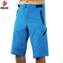 цены Arsuxeo Summer Men's Cycling Shorts Men Quick Dry Outdoor Sports Downhill Bicycle MTB Road Mountain Bike Shorts Ciclismo Culotte