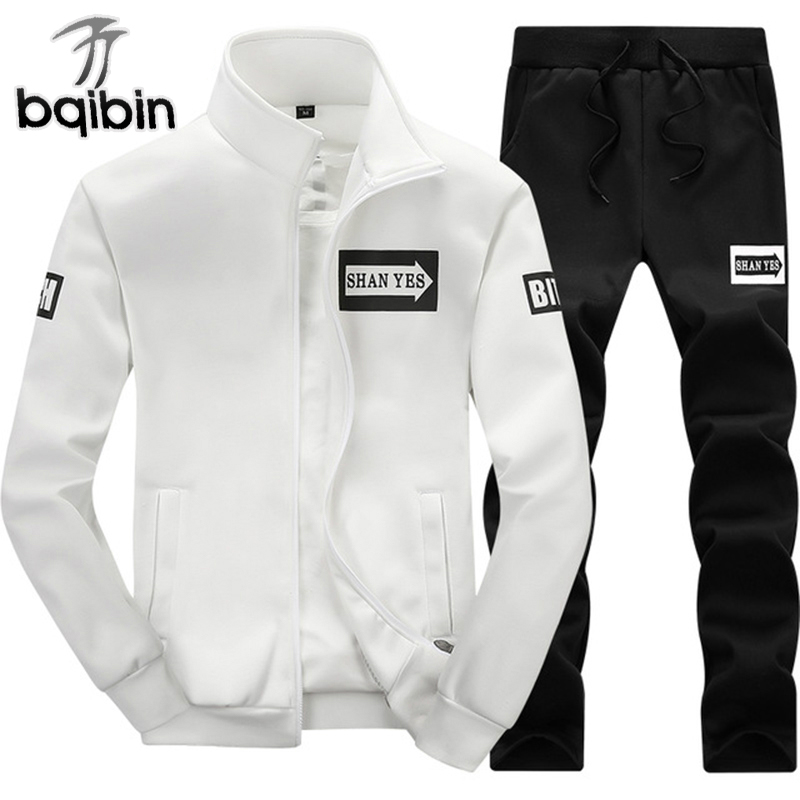 2018 New Spring Tracksuit Men Sweat Sporting Set Brand Hoodies Men Sportswear Hip Hop Sweatshirt Men Jogger Set For Masculino
