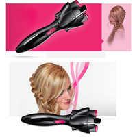 Pince à cheveux électrique pince à tresser automatique dispositif à tricoter Machine à tresser les cheveux coiffure outil de coiffure Cabello