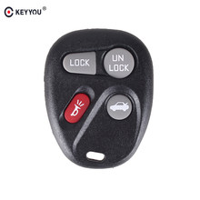 KEYYOU-télécommande à 4 boutons de rechange FOB porte-clés coquille Fob pour voiture GMC, BUICK, cadillac, CHEVROLET OLDSMOBILE, PONTIAC