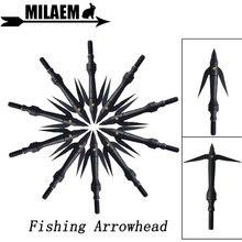 3/6/12pcs Archery Fishing Arrowhead Steel Broadhead 162Gr Target Arrow Point Tips Bow Hunting Shooting Accessories