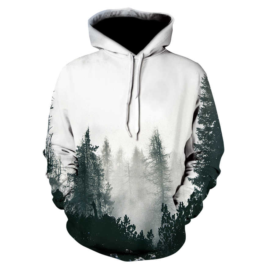 3d Print Mens Hoodies and Sweatshirts Men Hooded Black White Lovers Sweetheart Clothes Pullover Sudadera Hombre