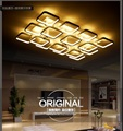 Square Acrylic Modern ceiling lights for living room bedroom study room Home decoration ceiling lamp led lighting fixtures