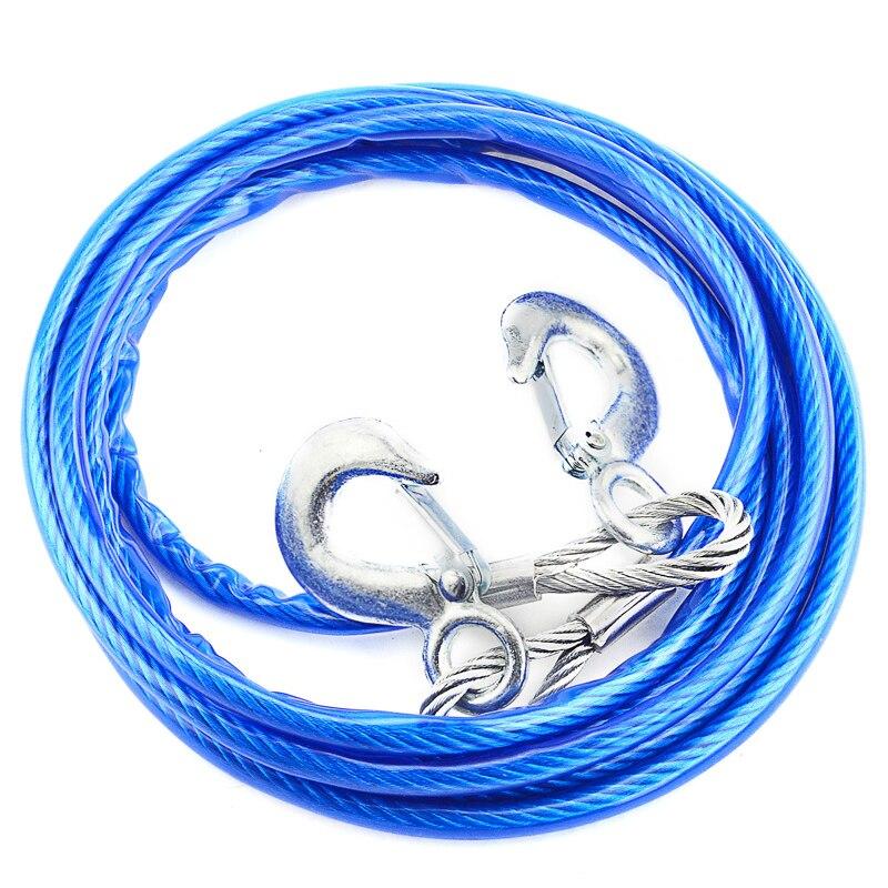 4 mt 5 Tonnen Draht Kabel Hohe Festigkeit Sicherheit Haken Stahl ...