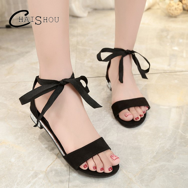 2018 Summer Women Sandals Open Toe Flip Flops Women's Flat Sandles With low heels Women Shoes Gladiator Shoes Mujer zapatos U143 2017 summer shoes woman platform sandals women soft leather casual open toe gladiator wedges women shoes zapatos mujer