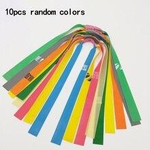 Kit de tirachinas con banda plana de goma elástica potente, tirachinas, versión anticongelante, 10 Uds., práctico