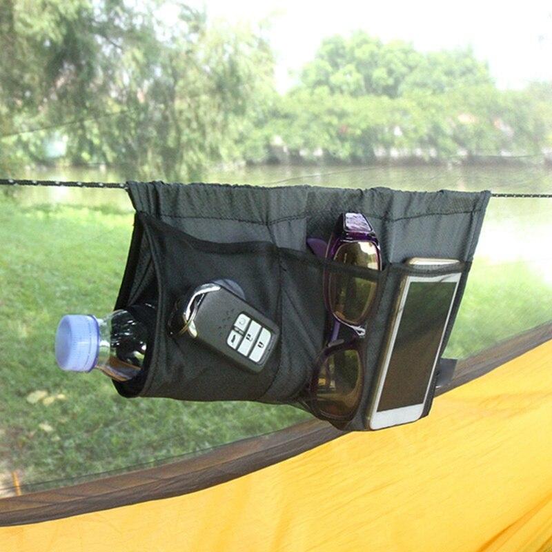 Outdoor gadget hammock debris bag ridge rope suspension bag camping equipment tool accessories