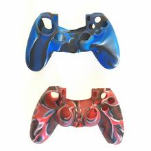 5PCS PS4 Silicone Case Camo Cover ps4 Handle Slim Durable Camouflage Protection Controller Gamepad Game