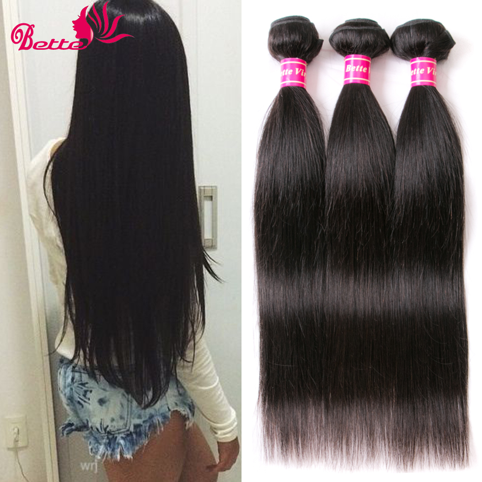 Grade 7A Brazilian Virgin Hair Straight 3 Bundle Deals Human Hair Brazillian Straight Hair Cheveux Bresilien tissage bresilienne