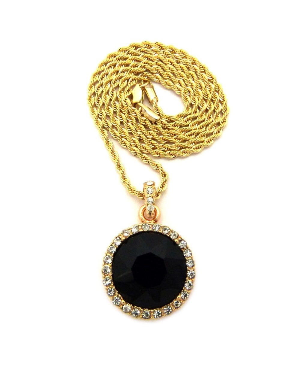 black jewelry handmade mm pin foot chain onyx stone plated per cz shape gold round chains faceted