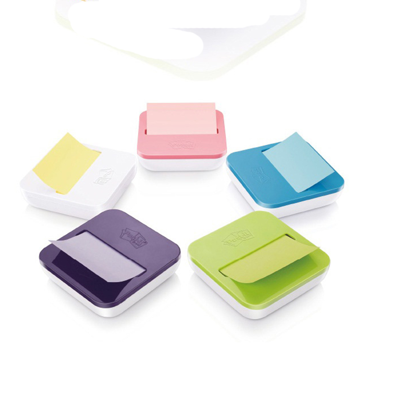 Post it 76*76mm 100 page/pad Sticky Notes Paper with Removable Dispenser base combo Memo pad notes 3M Brand Trustworthy