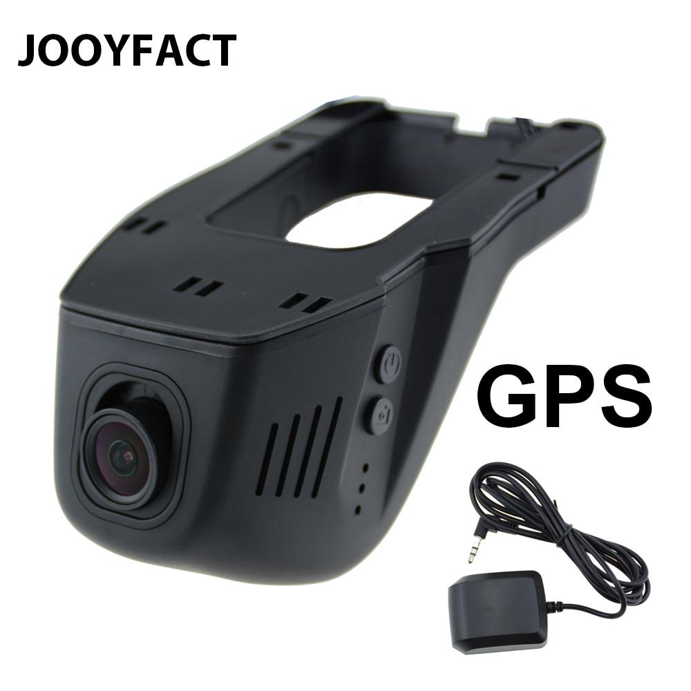 JOOYFACT A1G dvr de voiture Dash Cam Dvr caméra enregistreur Numérique enregistreur vidéo Caméscope 1080 P vision nocturne 96658 IMX323 WiFi GPS