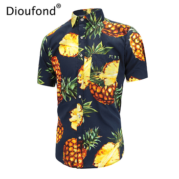 Pineapple Print Shirt 1