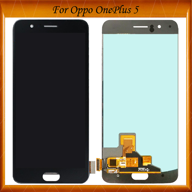 100% Working Original For Oneplus 5 A5000 LCD Display Touch Screen Digitizer Full Assembly Replacement Part Black White Color100% Working Original For Oneplus 5 A5000 LCD Display Touch Screen Digitizer Full Assembly Replacement Part Black White Color