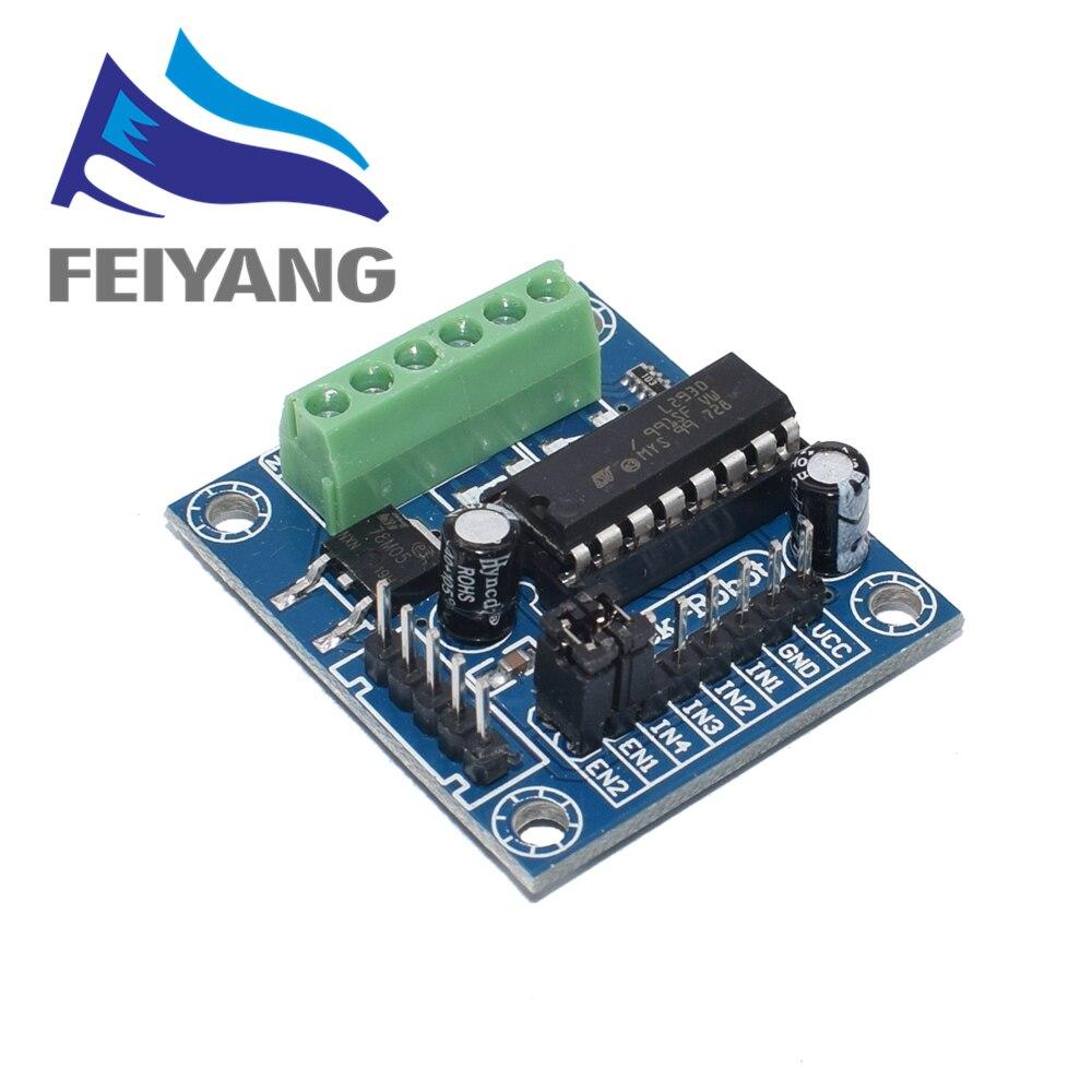 1pcs Mini 4CH 4 Channel Motor Drive Driver Shield L293 L293D Expansion Board Module